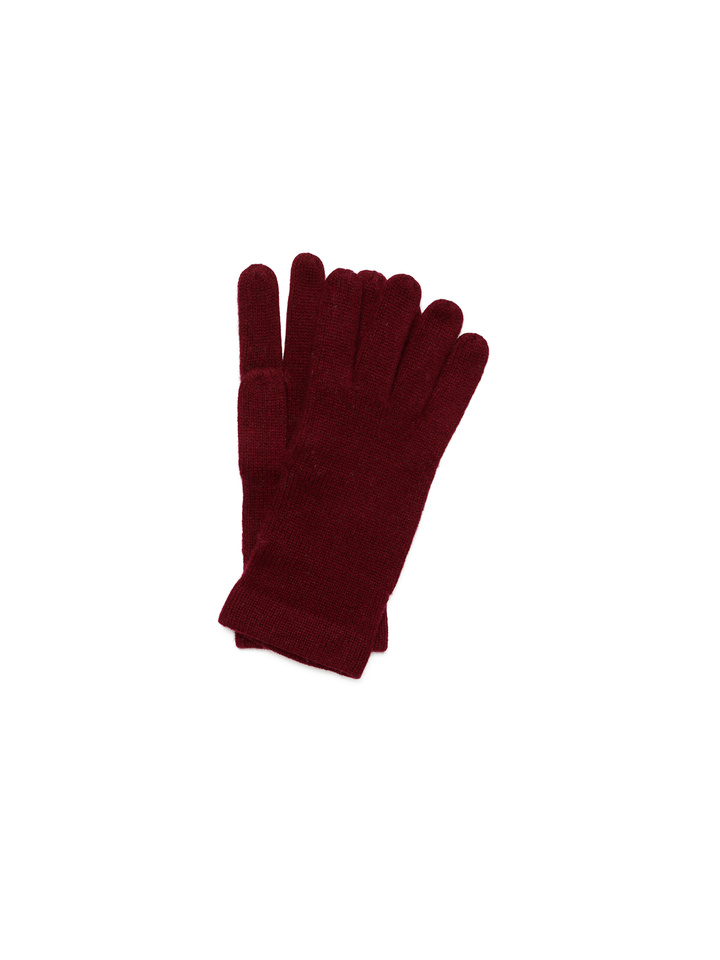 Soft Goat Men's Gloves Burgundy