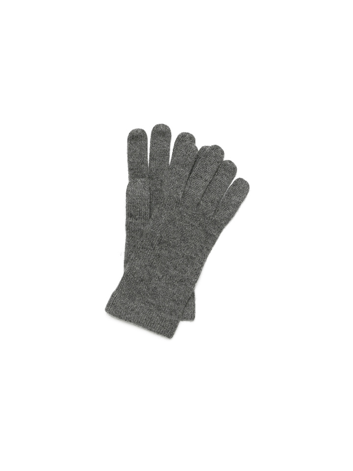 Soft Goat Men's Gloves Dark Grey