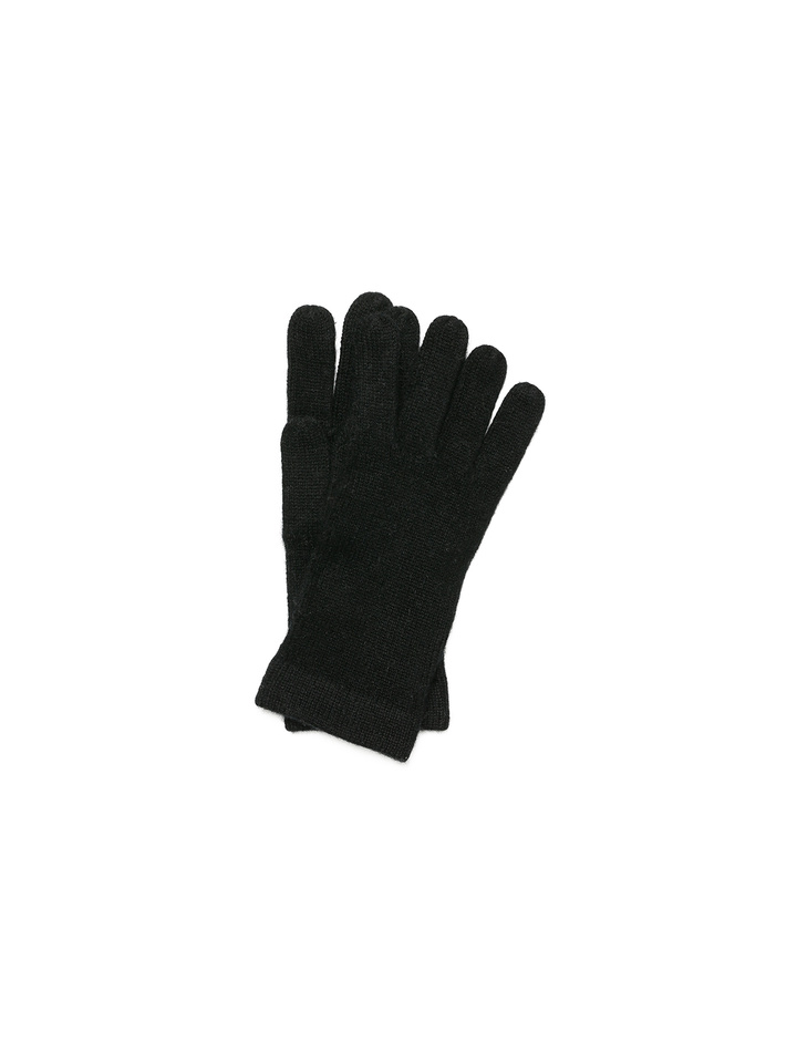 Soft Goat Men's Gloves Black