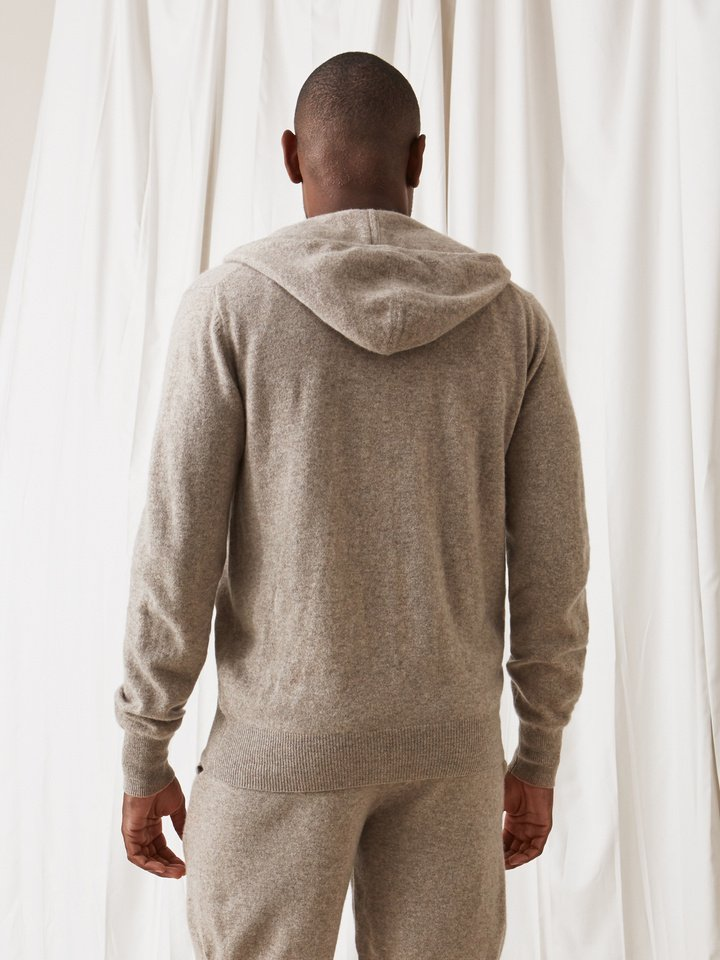 Soft Goat Men's Hoodie Light Taupe
