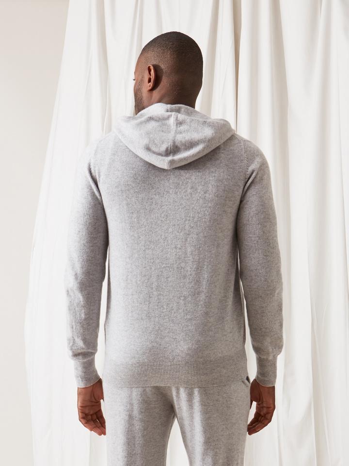 Soft Goat Men's Hoodie Light Grey