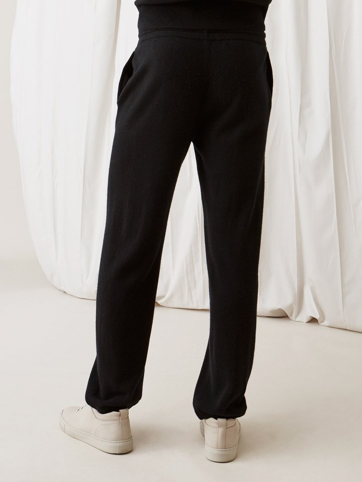 Soft Goat Men's Pants Black