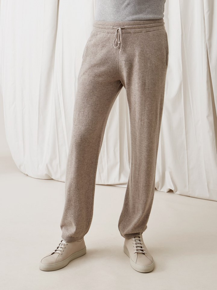Soft Goat Men's Pants Light Taupe