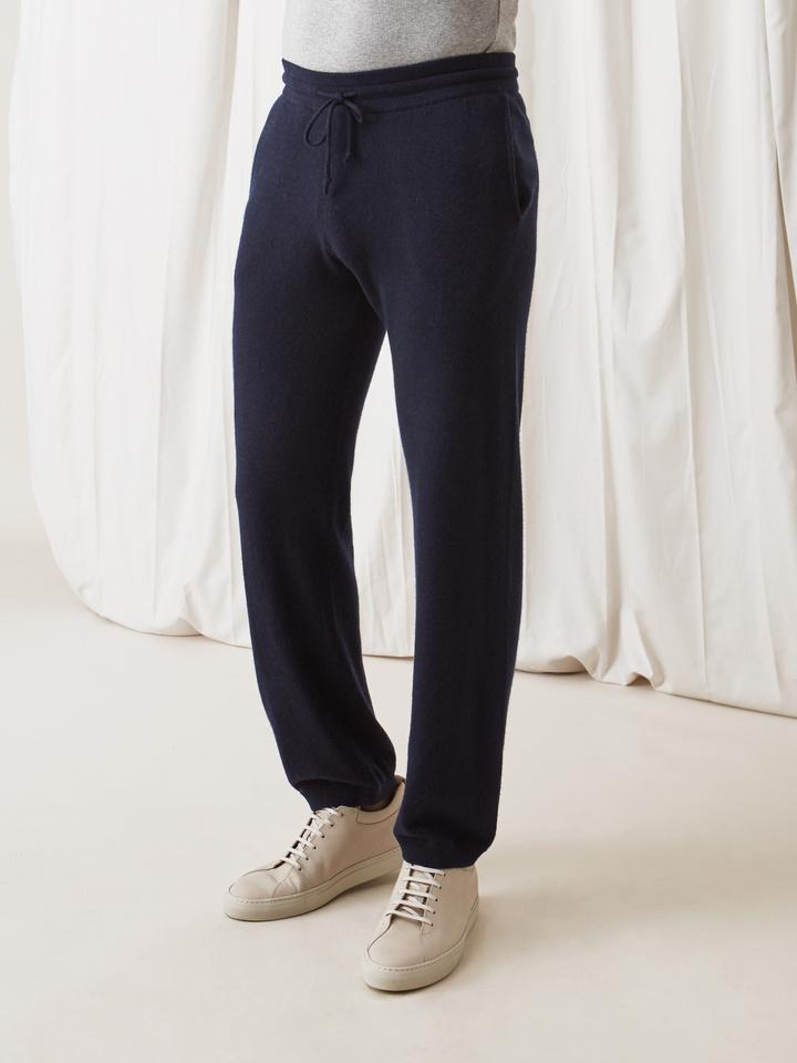 Soft Goat Men's Pants Navy