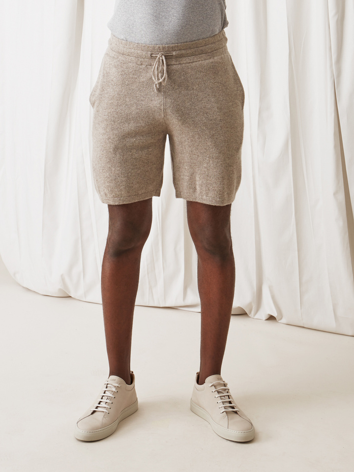 Soft Goat Men's Shorts Light Taupe