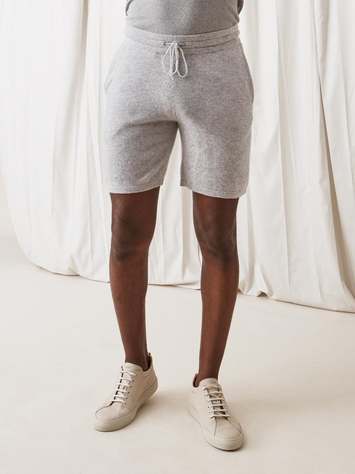 Soft Goat Men's Shorts Light Grey