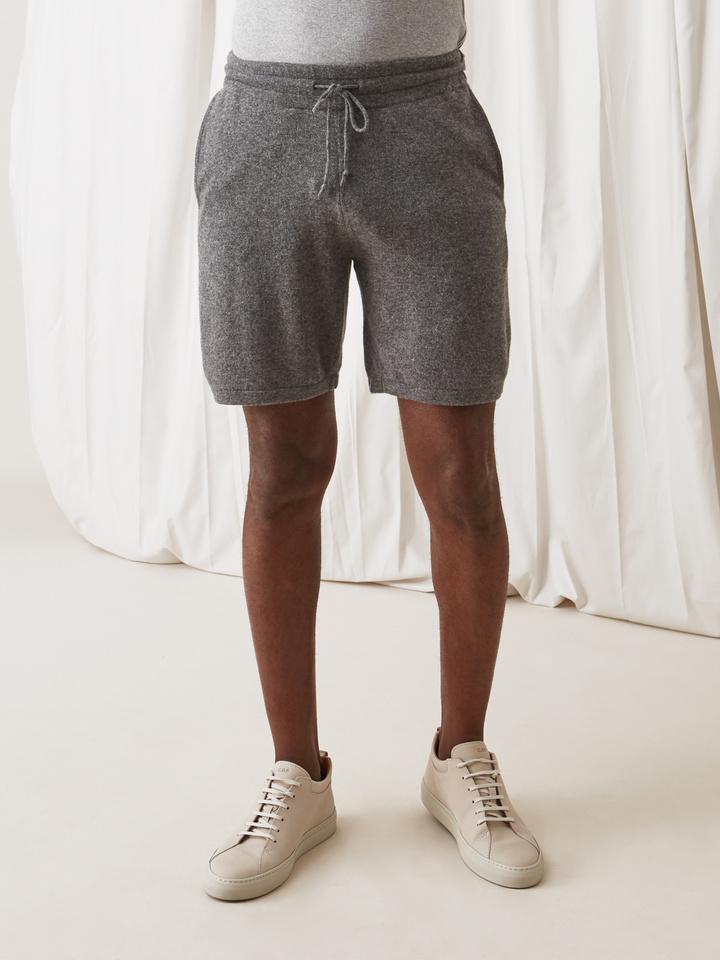 Soft Goat Men's Shorts Dark Grey