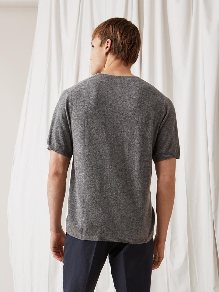 Soft Goat Men's T-Shirt Dark Grey