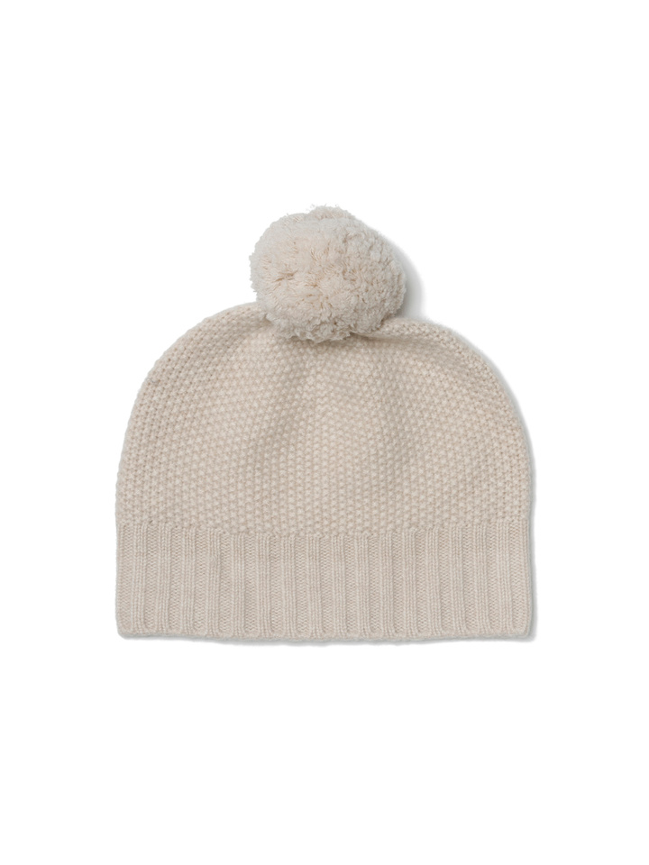 094ddb97d960ed Waffle Knit Beanie - Soft Goat Online Cashmere