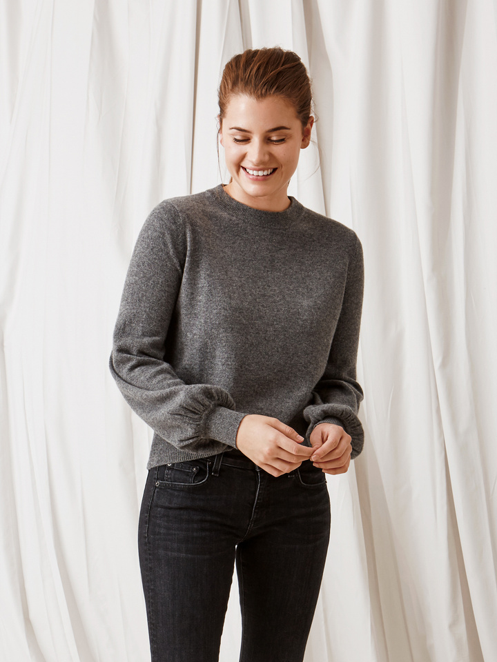 Thumbnail Women's Ballon Arm Sweater