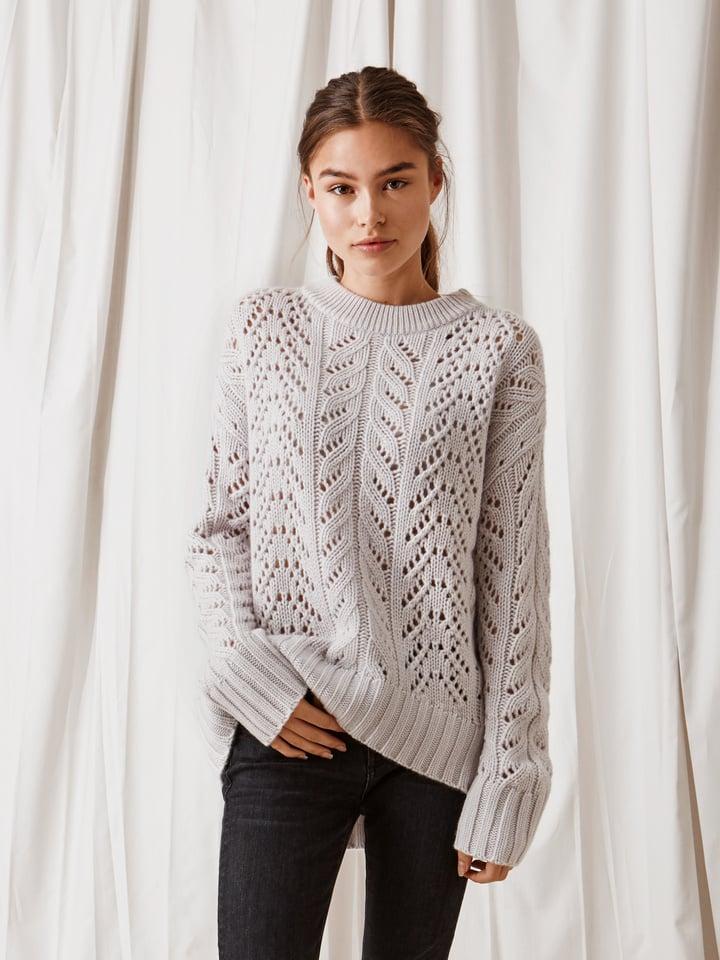 Thumbnail Women's Eyelet Sweater