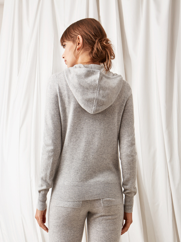 Soft Goat Women's Hoodie Light Grey