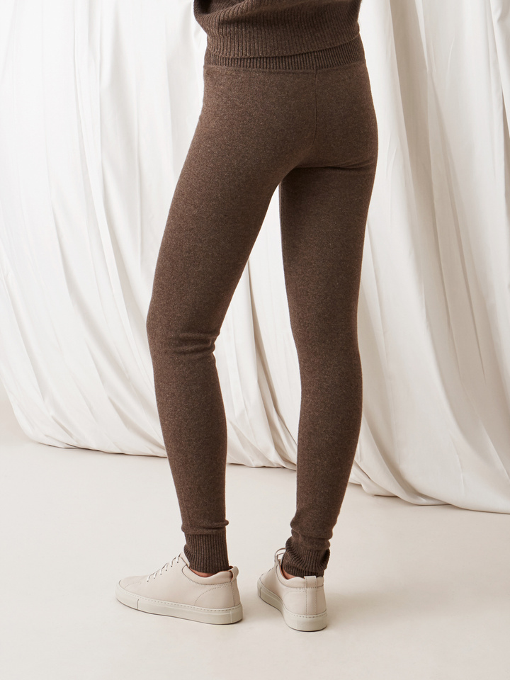 Soft Goat Leggings Mocca