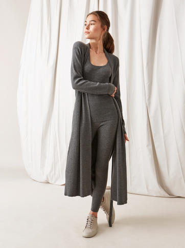 Product thumbnail of Long Fine Knit Cardigan
