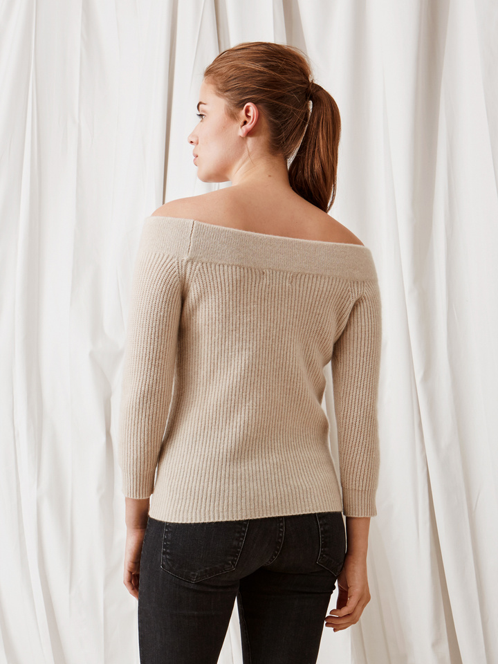 Thumbnail Off Shoulder Sweater