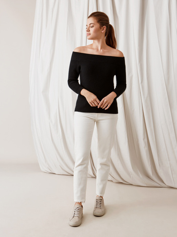 Product thumbnail of Off Shoulder Sweater