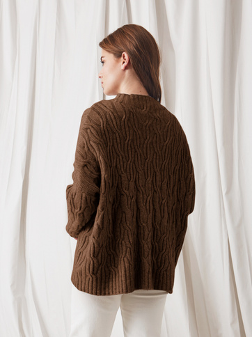 Product thumbnail of Oversized Cable Knit