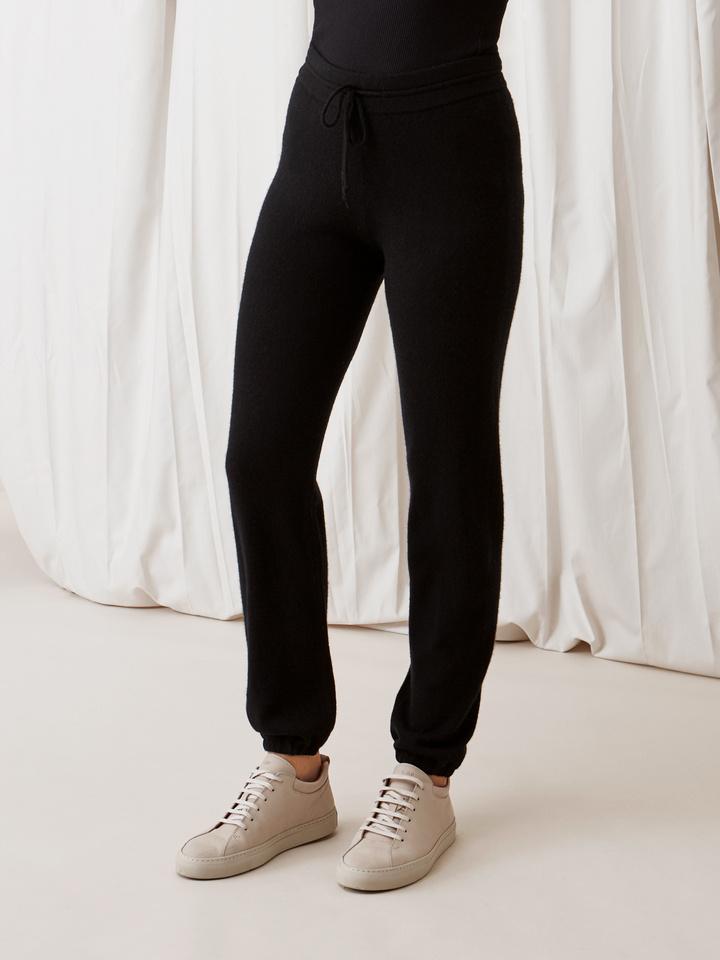 Soft Goat Women's Pants Black