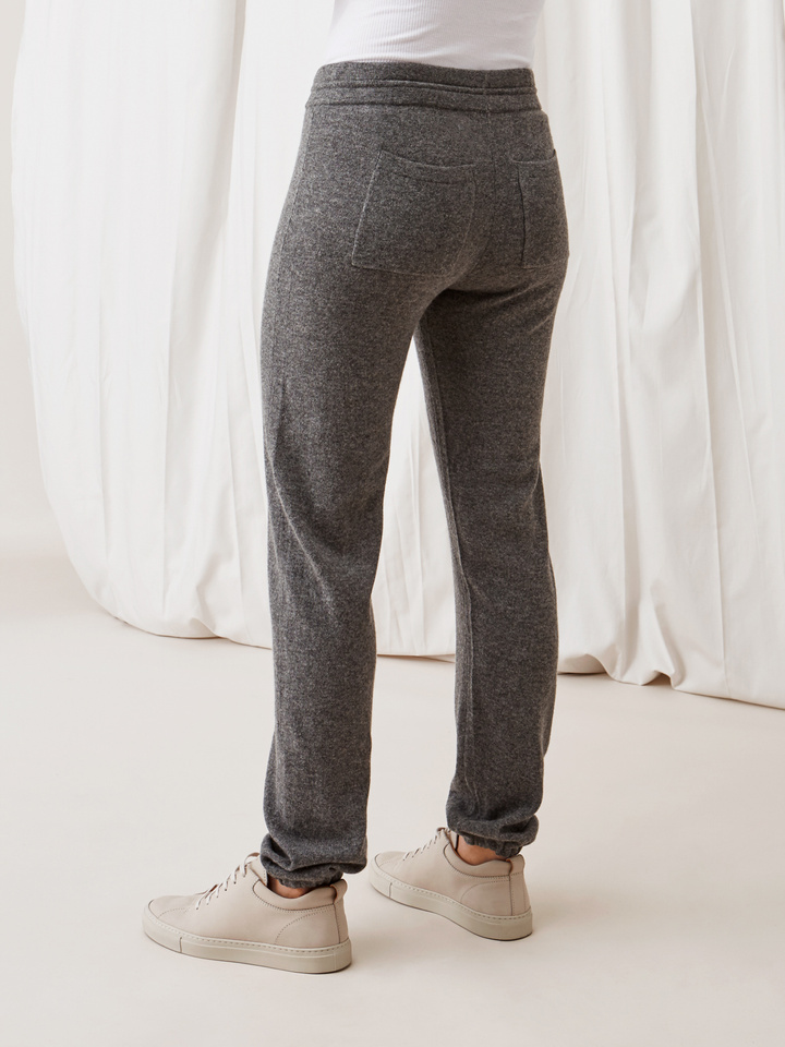 Soft Goat Women's Pants Dark Grey