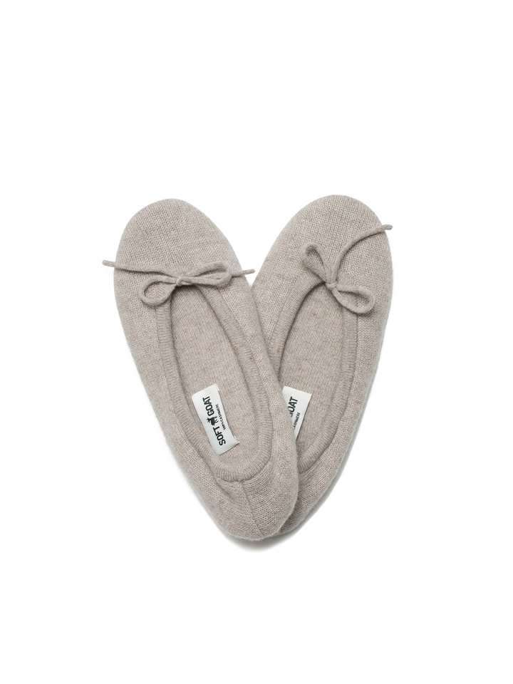 Soft Goat Women's Slippers Light Taupe