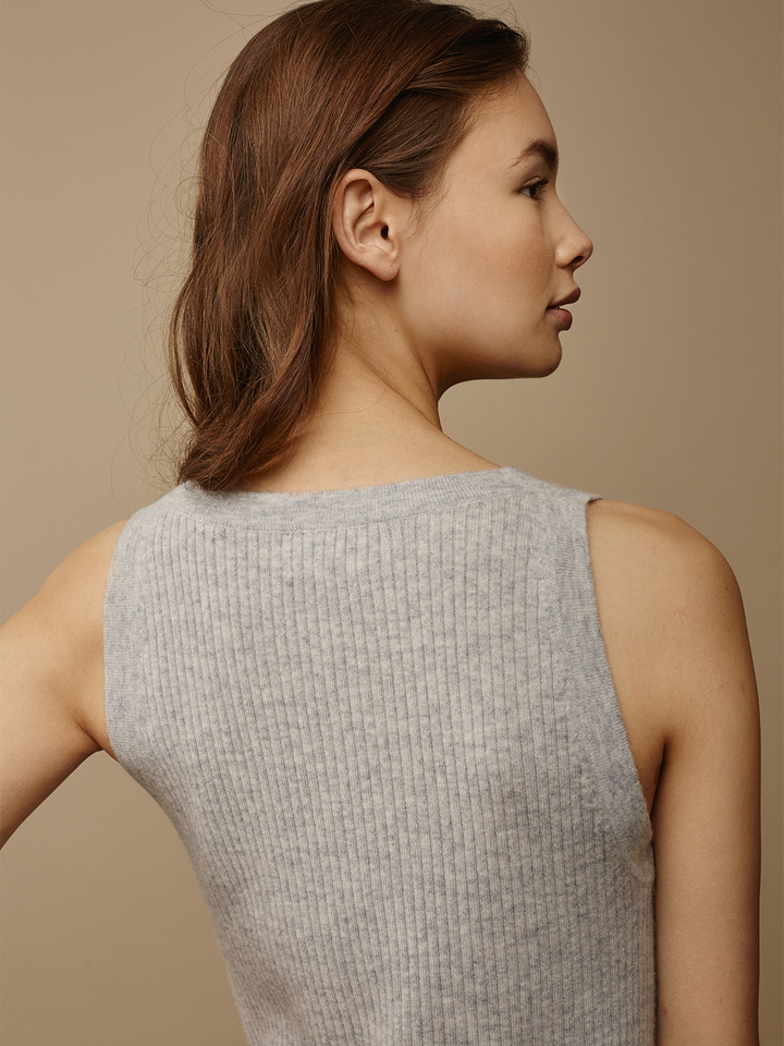 Thumbnail Fine Knit Ribbed Singlet