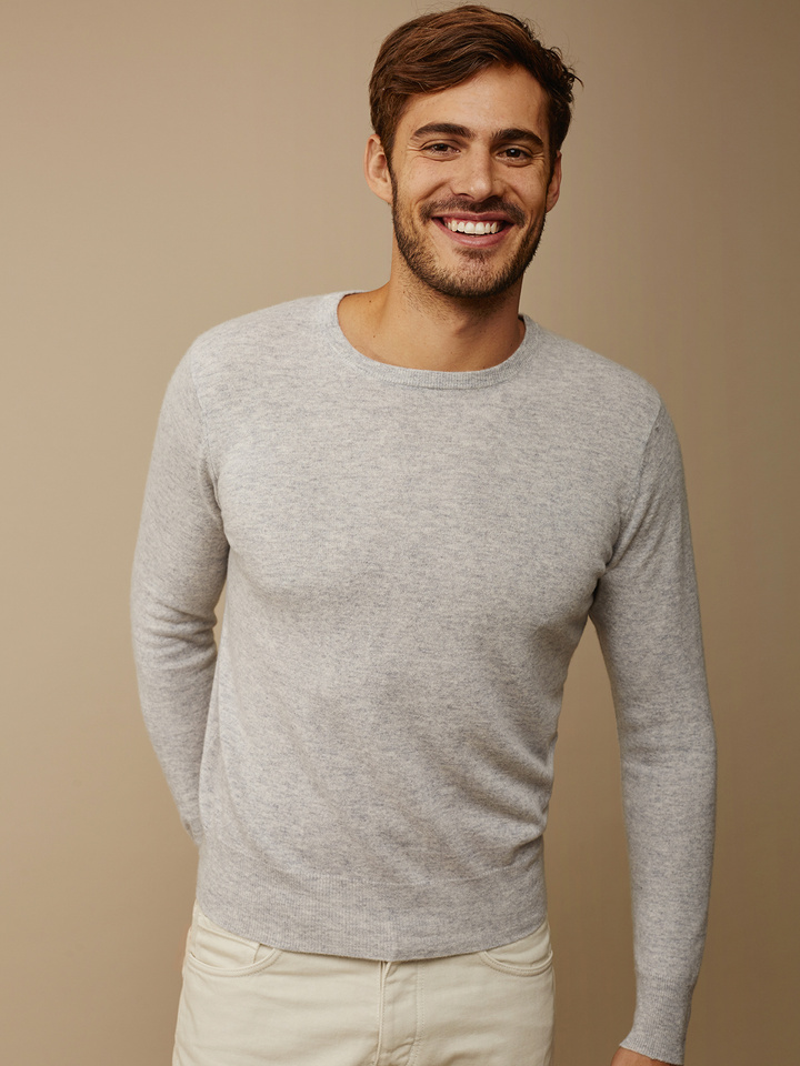 Thumbnail Men's Fine Knit O-Neck