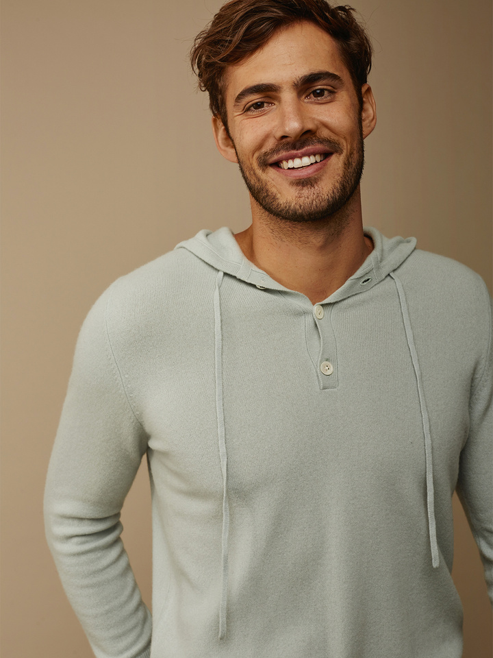 Thumbnail Men's Hoodie with buttons