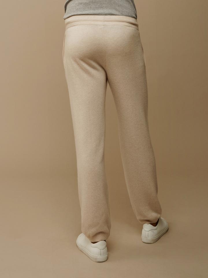 Soft Goat Men's Pants Beige