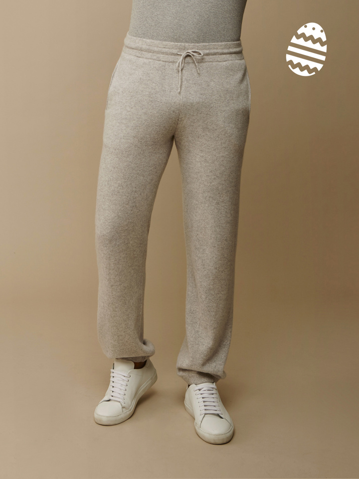 Soft Goat Men's Pants Light Grey