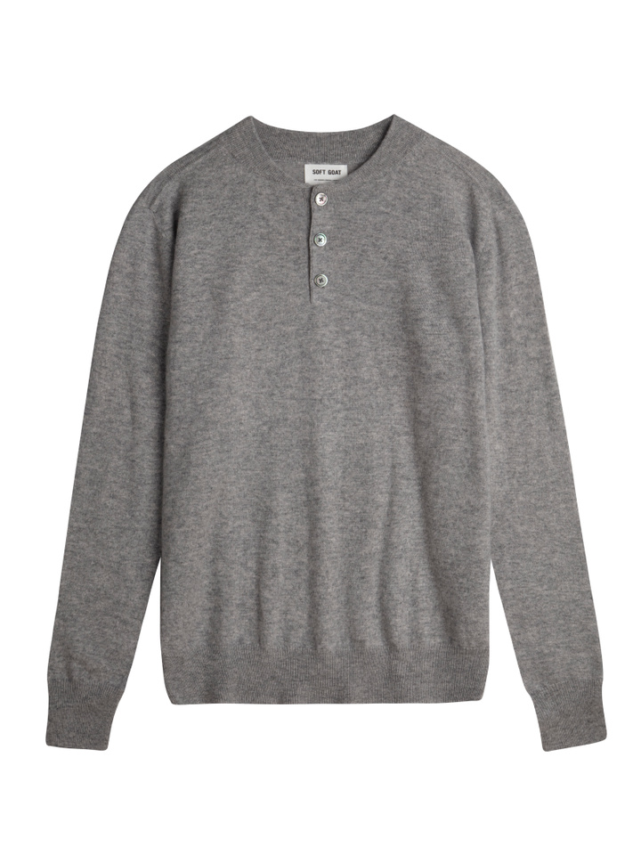 Thumbnail Men's Rugby Collar Sweater