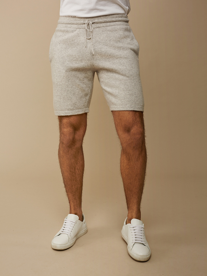 Soft Goat Men's Shorts Light Grey