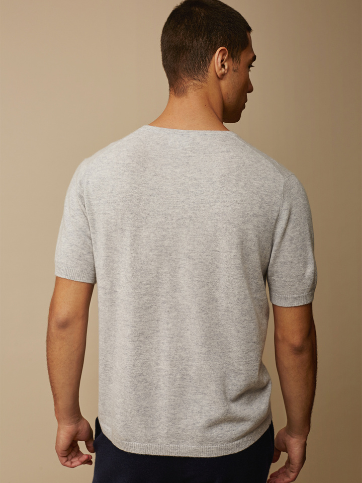 Soft Goat Men's T-Shirt Light Grey