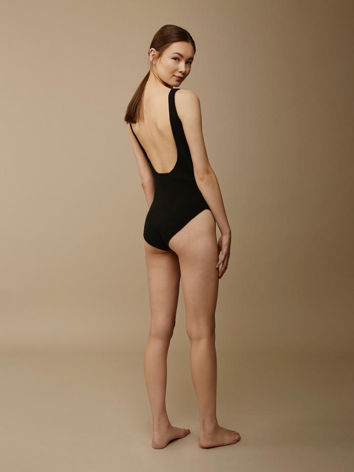 Soft Goat Women's Cashmere Body Black