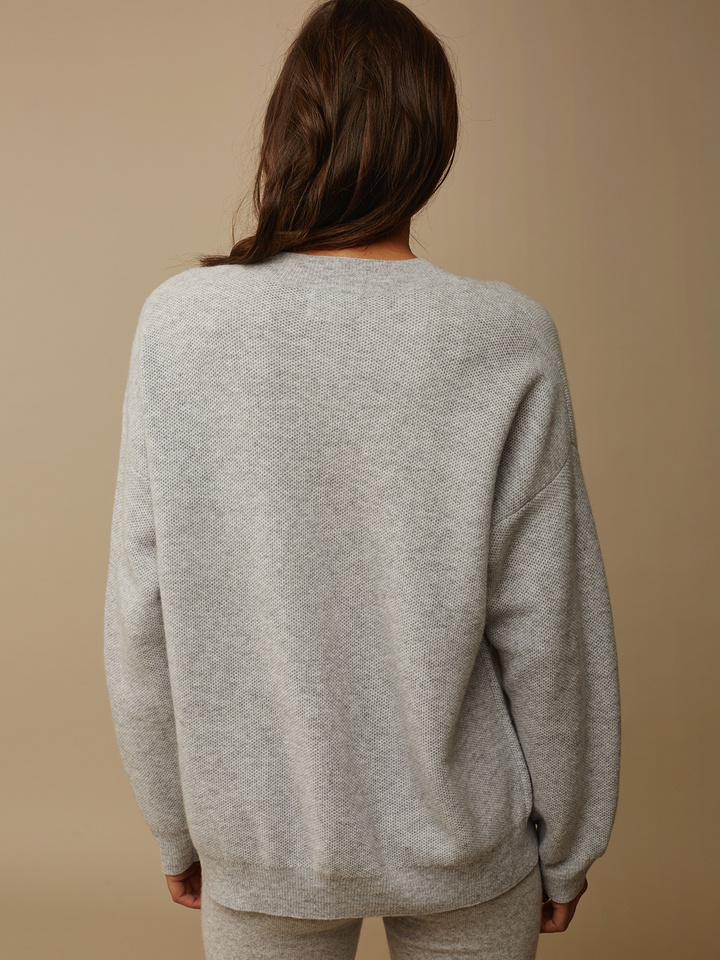 007e488f3302bd Women's Chunky Knit Waffle - Soft Goat Online Cashmere